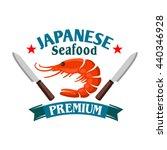 japanese seafood restaurant...   Shutterstock .eps vector #440346928