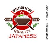 Japanese Cuisine Symbol Of Ric...