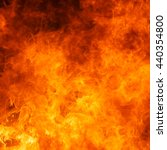 blaze fire flame texture... | Shutterstock . vector #440354800