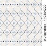 seamless vintage pattern | Shutterstock .eps vector #440364220