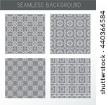 seamless grey backgrounds... | Shutterstock .eps vector #440366584