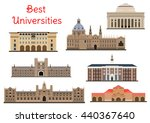 national universities for... | Shutterstock .eps vector #440367640