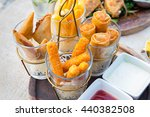 mix snack break with margarita... | Shutterstock . vector #440382508
