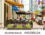 historical larimer squarre in... | Shutterstock . vector #440388136