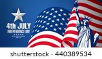 fourth of july independence day | Shutterstock .eps vector #440389534