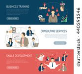 business skill development... | Shutterstock .eps vector #440391346