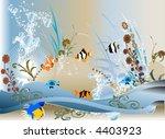 vector  aquarium | Shutterstock .eps vector #4403923