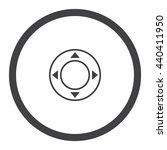 joystick icon jpg | Shutterstock .eps vector #440411950