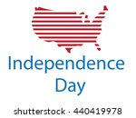 independence day. us... | Shutterstock .eps vector #440419978