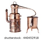 Old Vintage Copper Alembic Use...