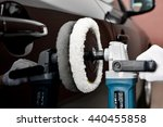car polishing   Shutterstock . vector #440455858