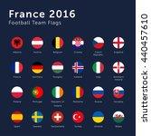 vector flags of france 2016... | Shutterstock .eps vector #440457610