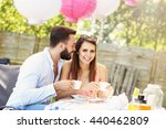 picture of young couple in... | Shutterstock . vector #440462809