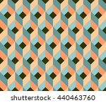 abstract geometric pattern... | Shutterstock .eps vector #440463760