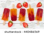 Strawberry Mango Popsicles  ...