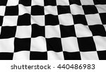 checkered racing flag hd... | Shutterstock . vector #440486983
