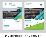 corporate brochure flyer design ...   Shutterstock .eps vector #440488369
