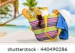 beach. | Shutterstock . vector #440490286