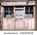 Old Disused Shop In Village In...