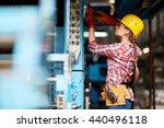 female technician | Shutterstock . vector #440496118