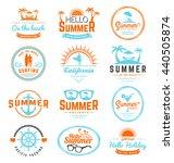 modern retro insignia for...   Shutterstock .eps vector #440505874
