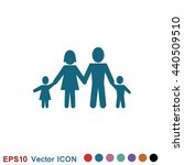 family icon | Shutterstock .eps vector #440509510