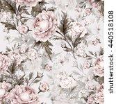 seamless watercolor pattern... | Shutterstock . vector #440518108