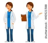 cartoon illustration of a... | Shutterstock .eps vector #440521588