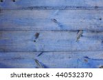 old blue wooden wall  detailed... | Shutterstock . vector #440532370