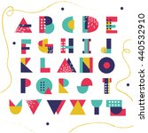 bright creative abc for your...   Shutterstock .eps vector #440532910