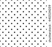 abstract monochrome geometric... | Shutterstock .eps vector #440534059