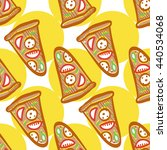 seamless pattern of italian... | Shutterstock .eps vector #440534068
