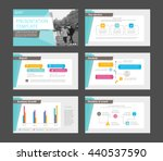 set of colored infographic... | Shutterstock .eps vector #440537590