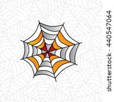 colorful spider web art theme... | Shutterstock .eps vector #440547064