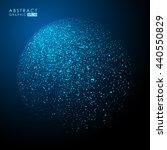 abstract vector sphere ... | Shutterstock .eps vector #440550829