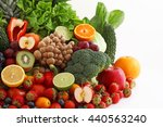 fresh fruits and vegetables | Shutterstock . vector #440563240