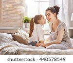 happy loving family. mother and ... | Shutterstock . vector #440578549