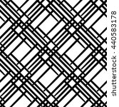 seamless geometric pattern with ... | Shutterstock .eps vector #440583178