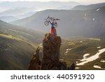 montenegrin mountains rocks and ... | Shutterstock . vector #440591920