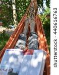 outdoors blog | Shutterstock . vector #440616763