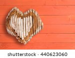 top down view on delicious... | Shutterstock . vector #440623060