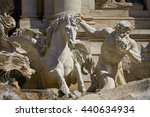 statue of the trevi fountain in ... | Shutterstock . vector #440634934