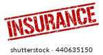 insurance stamp.stamp.sign... | Shutterstock .eps vector #440635150