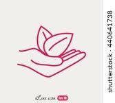 line icon  eco | Shutterstock .eps vector #440641738