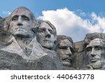 great heroes of america. | Shutterstock . vector #440643778