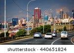 johannesburg cityscape. city