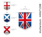 united kingdom flag   england ... | Shutterstock .eps vector #440671288