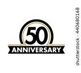 anniversary vector unusual... | Shutterstock .eps vector #440680168