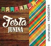 festa junina illustration  ... | Shutterstock .eps vector #440685394