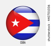 cuba flag in circle shape.... | Shutterstock .eps vector #440701036